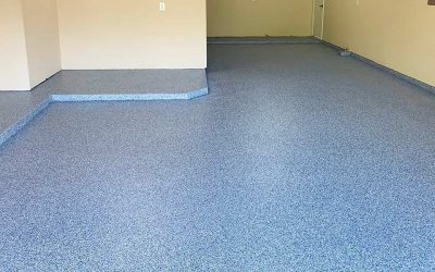 Epoxy Garage Flake Floor For a New Home