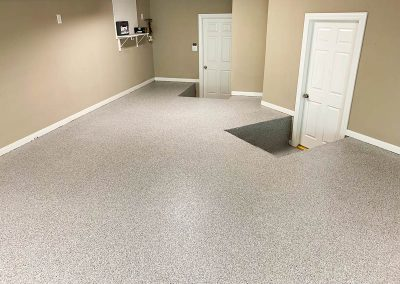 Garage Epoxy Flake Floor